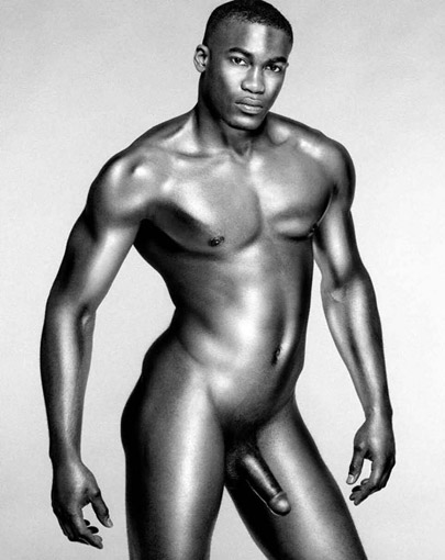 Beautiful Nude Black Men 43
